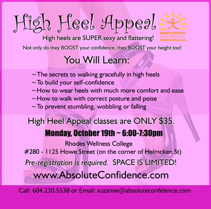 High Heel Appeal Class