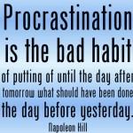 procrastination-napoleon