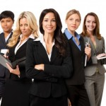 group-of-confident-powerful-businesswomen